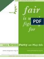 Green Party Manifesto
