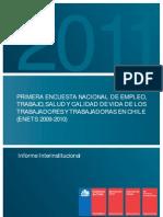 Encuesta Nacional de Salud y Trabajo 2011