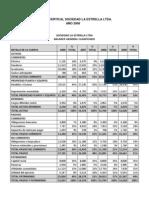 Analisis Vertical Sociedad La Estrella Ltda