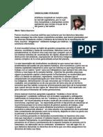 HACIA DONDE VA EL SINDICALISMO PERUANO