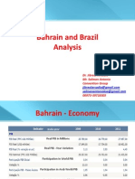 Bahrain and Brazil