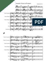Handel Concerto Grosso Op6 No12 Score
