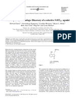 SAR of Psilocybin Analogs Discovery of a Selective 5-Ht2c Agonist