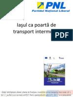 Iaşul ca poartă de transport intermodal