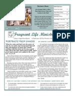 Calvary Chapel Reno-Sparks Women's Newsletter November-December 2011