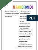 GUION RADIOFONICO