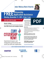 Citizenship Now Viverito Flyer