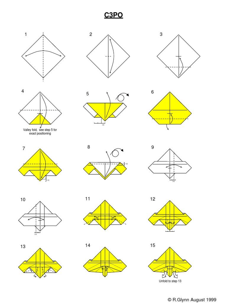C3PO Instux | Origami Yoda | 1024x768