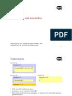 Dot Net Name Spaces Assemblies