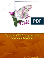 Glycyclines-The Management Of Nosocomial Infections