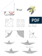 Origami - Wasp