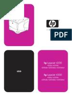 Administración y mantenimiento HP 4300