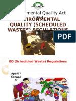 Schedule Waste Management Presentation