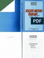 Atașații militari transmit...1938-1944