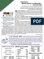 Bulletin NDLB 111030