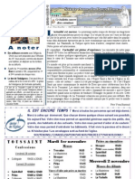 Bulletin SAPB 111030