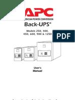 Apc Backups