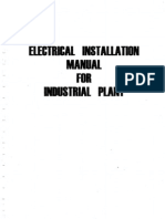 Electrical Installation Manual for Industrial Plant