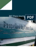 2012 MIT Press Journals Catalog