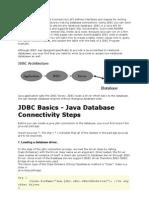 The JDBC