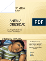Obesidad Anemia