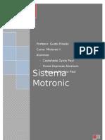 Trabajo Sistema Motronic