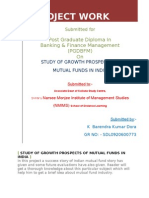 Studt of Mutual Fund in India Final Project