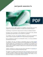El Paracetamol Puede Aumentar La Memoria