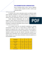 AMBIENTES DE SEDIMENTACIÓN CARBONATADA