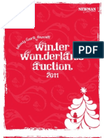2011 Winter Wonderland Auction Catalog