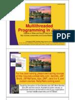 15 Multi Threaded Programming