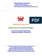 Supreme Master Ching Hai's 1993 World Lecture Tour - Rediscover Our Supreme Wisdom