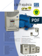 Folheto CFW08
