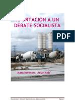 Aportación a un debate socialista