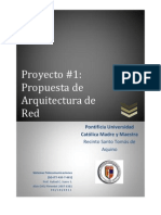 Propuesta de Arquitectura de Red - Sistemas Telecomunicaciones