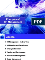 Principles of Hr Management 602