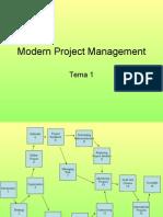Modern Project Management
