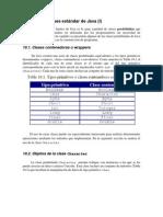 10Algunas Clases Estandar de Java I