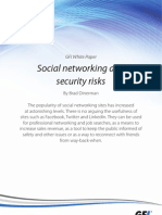 Social Networking and Security Risks