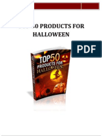 Top 50 Products for Halloween