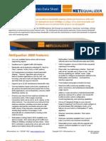 Net Equalizer 3000 Series Data Sheet