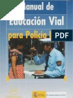 Manual de Educacion Vial Para Policia Local