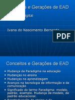 Conceitos e Geracoes de EAD
