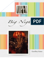 Big Night  Menus, Media, and Recipes
