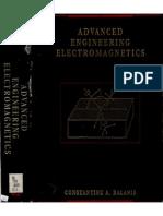 Advanced Electromagnetic Engineering - Balanis