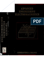Advanced Electromagnetic Engineering - Balanis