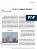 Maintenance Management and Technology  for Buildings