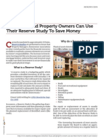 Why HOAs and Property Owners Can Use Their Reserve Study to Save Money
