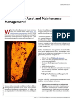 Choosing Better Asset and Maintenance Management