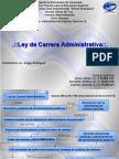 Ley de Carrera Administrativa (Mapa Conceptual)